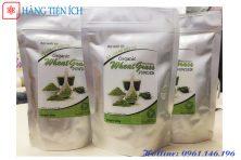 bột cỏ lúa mì hữu cơ