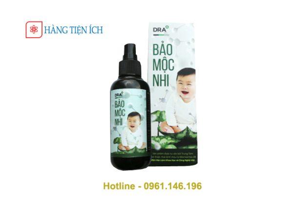Bảo Mộc Nhi trị ho, sốt, cảm cúm và các bệnh ngoài da cho bé hiệu quả