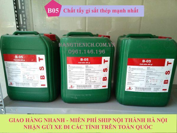 chất biến đổi gỉ b05, chất tẩy gỉ b05 giao hàng miễn phí ship nội thành Hà Nội và gửi các tỉnh toàn quốc