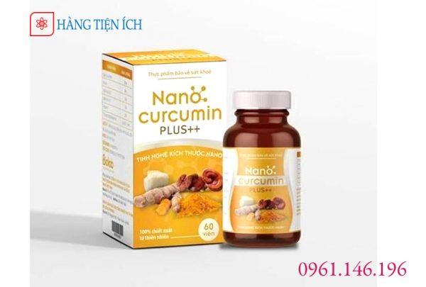 Nano Curcumin Plus++ Viện thực phẩm chữa dạ dày và phục hồi sức khỏe