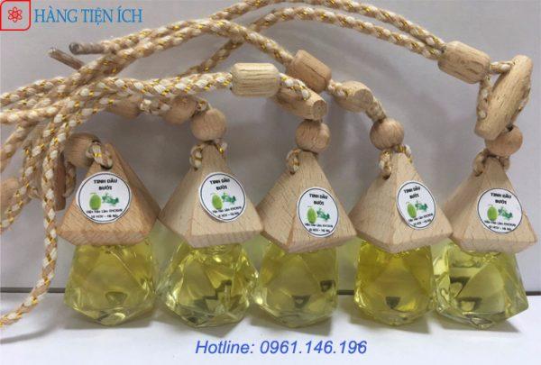 Tinh dầu bưởi - Tinh dầu treo xe ô tô Viện Hàn Lâm giúp thơm xe khử mùi