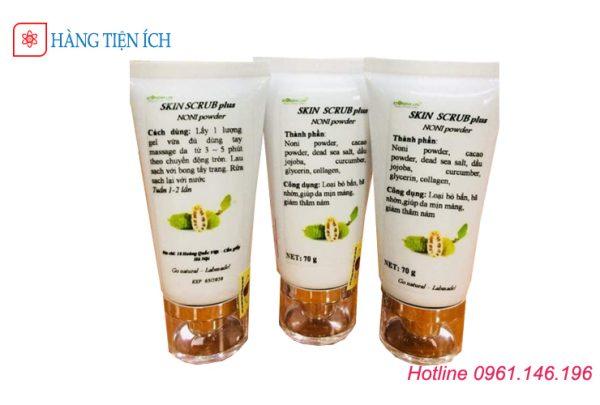 Gel tẩy tế bào da chết Skin Scrub Viện Hàn Lâm làm sạch da và bã nhờn