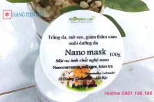 Mặt nạ nghệ Nano mask dạng cream Viện Hàn Lâm dưỡng da mờ sẹo