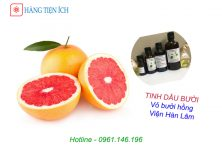 Tinh dầu bưởi (vỏ bưởi hồng) Viện Hàn Lâm dưỡng tóc hiệu quả