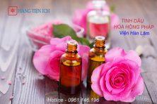 Tinh dầu Hoa hồng Pháp - Viện hàn lâm giúp thư giãn, giảm căng thẳng