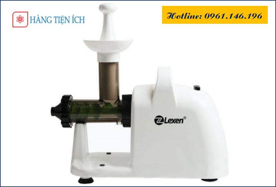 Máy ép chậm cỏ lúa mì Lexen bằng điện chính hãng (Màu trắng)